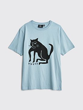 Parra Cat T-shirt Dusty Blue