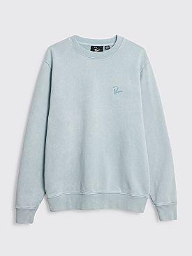 Parra Signature Logo Sweatshirt Dusty Blue