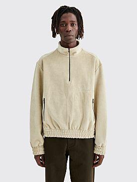 PHIPPS Trekking Bonded Velour Sweatshirt Stone