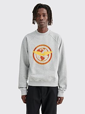 PHIPPS Flight Logo Sweatshirt Grey