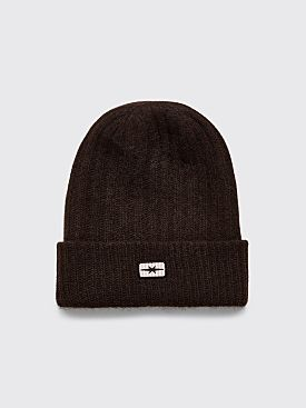 PHIPPS Beanie Hat Brown