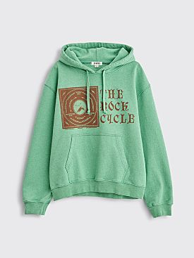 PHIPPS Rock Cycle Hooded Sweatshirt Selenite Green