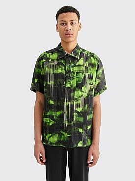PHIPPS Short Sleeve Camp Shirt Verdelite Green