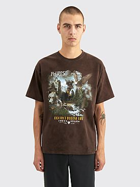 PHIPPS Forest Life T-shirt Brown