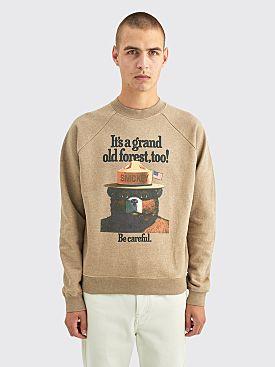 PHIPPS Smokey Sweatshirt Taupe