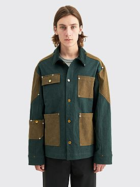 PHIPPS Ranger Cotton Workwear Jacket Dark Pine