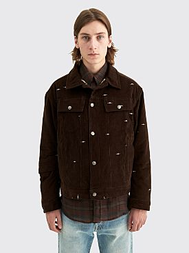 PHIPPS Logo Logging Jacket Bark Brown