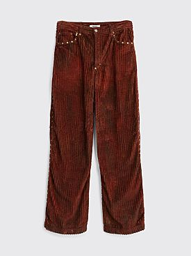 PHIPPS Tie Dye Studded Corduroy Jean Forest Multi