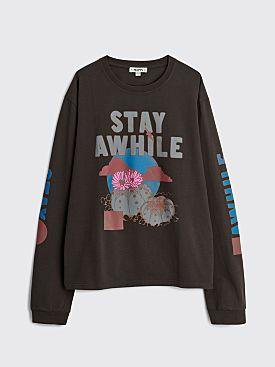 PHIPPS Star Cactus T-shirt Black Bear