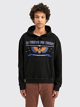 PHIPPS Patriot Hoodie Washed Black