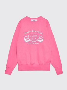 Pleasure Hire Me Sweatshirt Pink