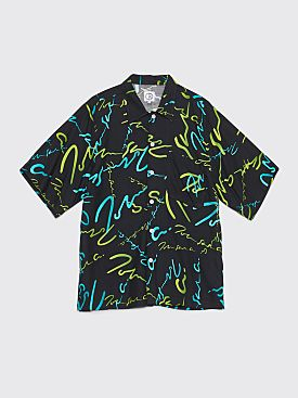 Polar Skate Co. Art Shirt Signature Black / Green
