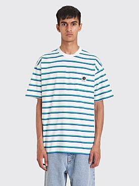 Polar Skate Co. Stripe Pocket T-shirt White