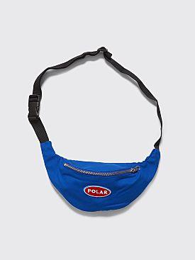 Polar Skate Co. Station Logo Hip Bag Royal Blue