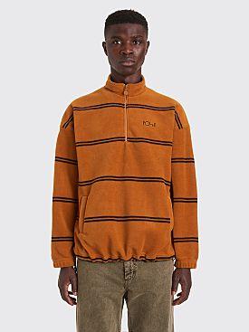 Polar Skate Co. Fleece Pullover 2.0 Striped Caramel