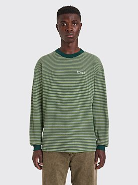 Polar Skate Co. Shin LS T-shirt Dark Green