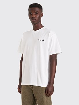 Polar Skate Co. Happy Sad Fill Logo T-shirt White