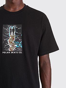 Polar Skate Co. DNA T-shirt Black