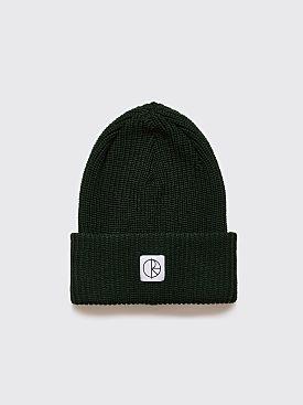 Polar Skate Co. Double Fold Merino Beanie Dark Green