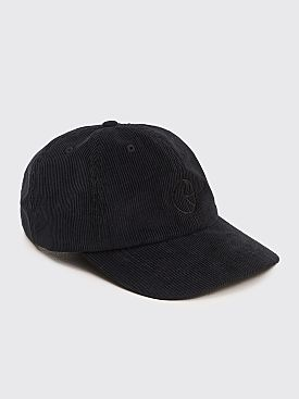 Polar Skate Co. Cord Cap Black