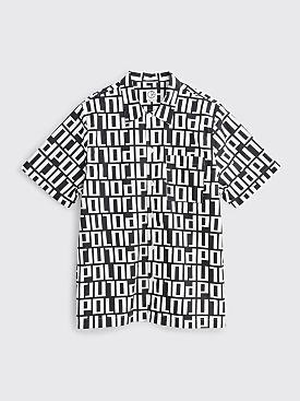 Polar Skate Co. Square Logo Shirt Black / White