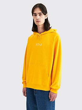 Polar Skate Co. Default Hooded Sweatshirt Yellow