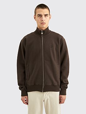 Polar Skate Co. Torsten Track Jacket Brown