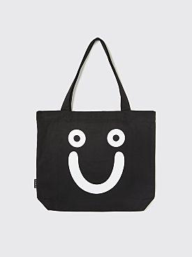 Polar Skate Co. Happy Sad Tote Bag Black