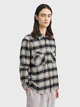Polar Skate Co. Flannel Shirt Black