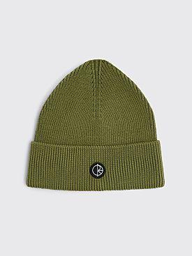 Polar Skate Co. Dry Cotton Beanie Army Green
