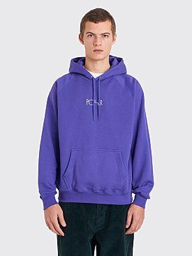 Polar Skate Co. Default Hooded Sweatshirt Deep Purple