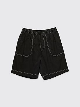 Polar Skate Co. Surf Shorts Black