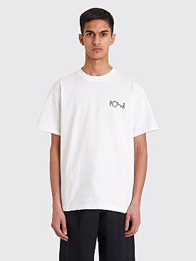 Polar Skate Co. Stroke Logo T-shirt White