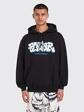 Polar Skate Co. x Iggy Graf Hooded Sweatshirt Black