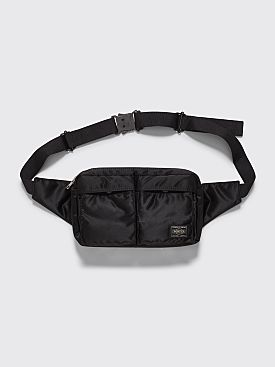 Porter Tanker Waist Bag Black