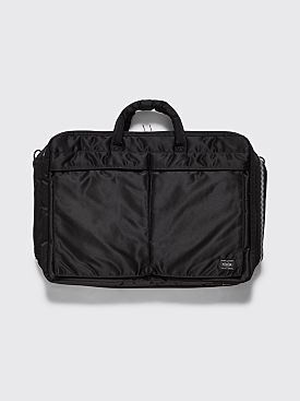Porter Tanker 3 Way Briefcase Black
