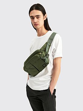 Porter Tanker Waist Bag Sage Large Green