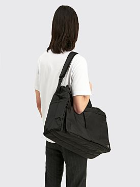 Porter Tanker 2Way Boston Bag Small Black
