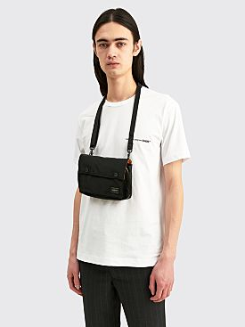 Porter Tanker Shoulder Bag Black
