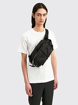 Porter Tanker Waist Bag Large Black