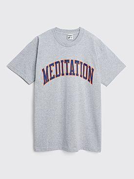 Powers Meditation T-shirt Heather Grey