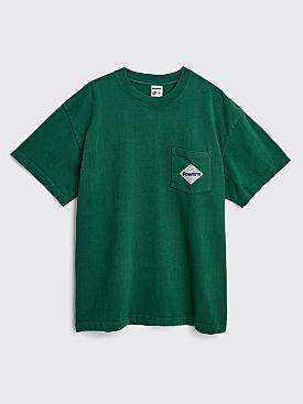 Powers Pocket Diamond Heavy T-shirt Dark Green