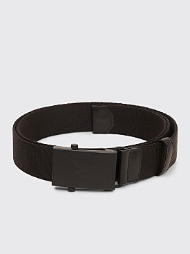 Prada Metal Buckle Belt Black