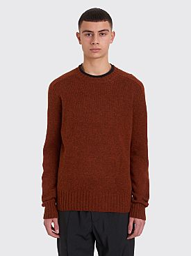 Prada Knitted Sweater Tabacco