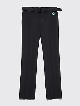 Prada Technical Jersey Pants Black
