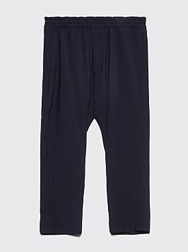 Prada Travel Wool Pants Navy