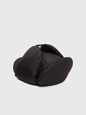 Prada Padded Nylon Gabardine Hat Black