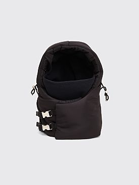 Prada Padded Nylon Hood Attachment Black