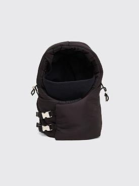 Prada Padded Nylon Hood Attachment Black