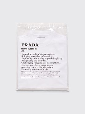 Prada Obvious Classics #1 3 x 1 T-shirt White